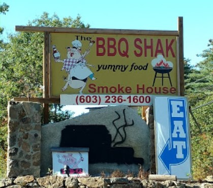visit the bbq shak in New Hampton